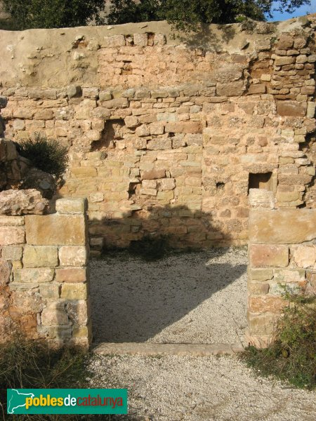 El Bruc - Sant Pau Vell, porta