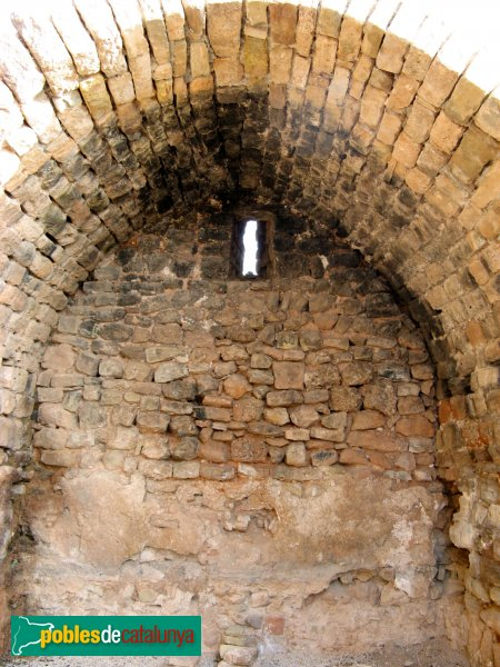 El Bruc - Sant Pau Vell, absis