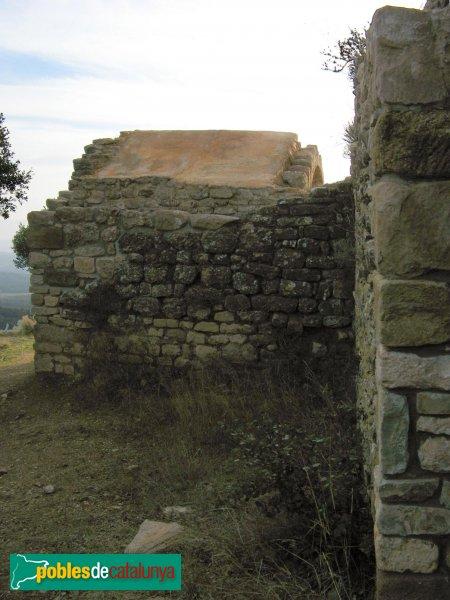El Bruc - Sant Pau Vell, exterior de l'absis