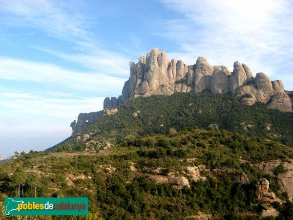 El Bruc - Montserrat des de Sant Pau Vell