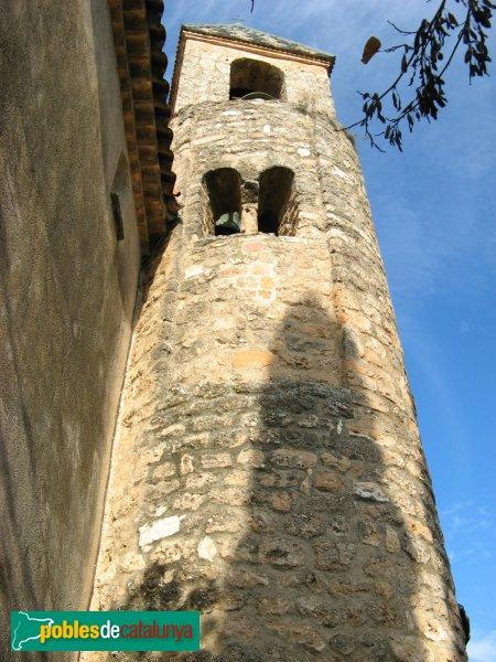 El Bruc - Església de Santa Maria, campanar