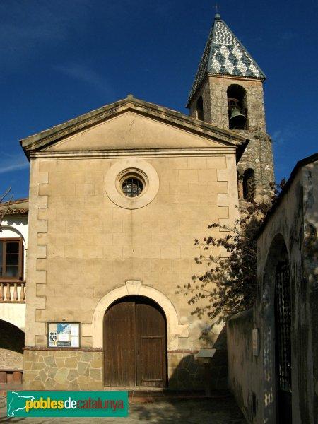 El Bruc - Església de Santa Maria