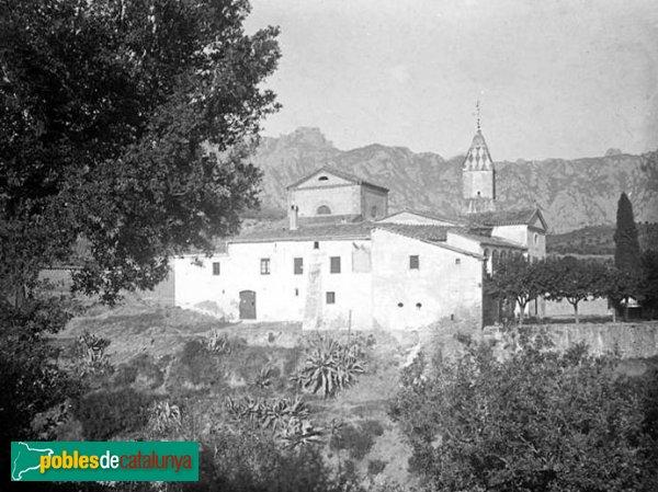 El Bruc - Església, 1921