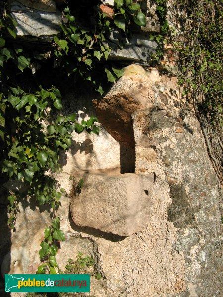 El Bruc - Sant Miquel de Vilaclara, pica exterior