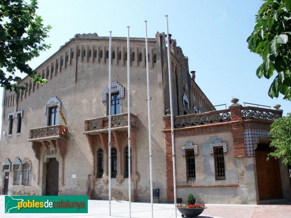 El Bruc - Can Casas, abans de la restauració