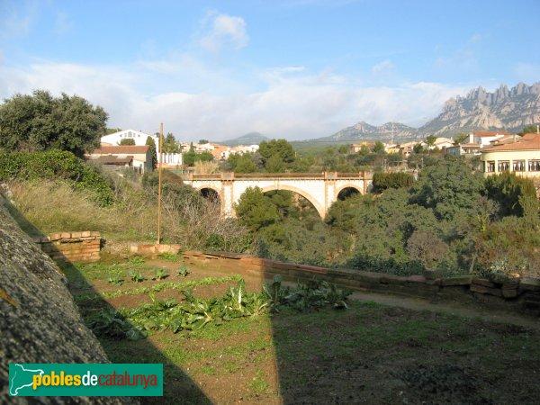 El Bruc - Pont de la Parròquia