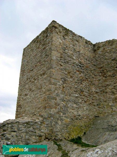 La Pobla de Claramunt - Castell: torre exterior