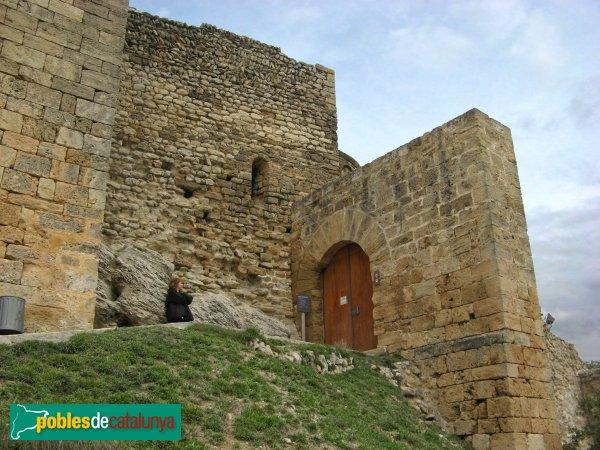 La Pobla de Claramunt - Castell: entrada al recinte