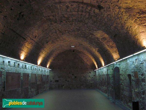 La Pobla de Claramunt - Castell: sala