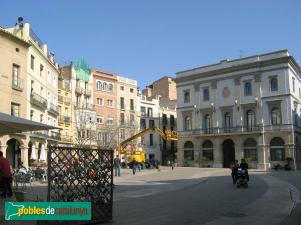 Igualada - Plaça de l'Ajuntament