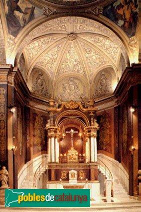 Igualada - Santa Maria, capella del Sant Crist