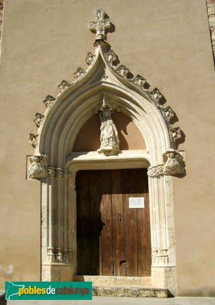 Orpí - Santa Càndia, porta