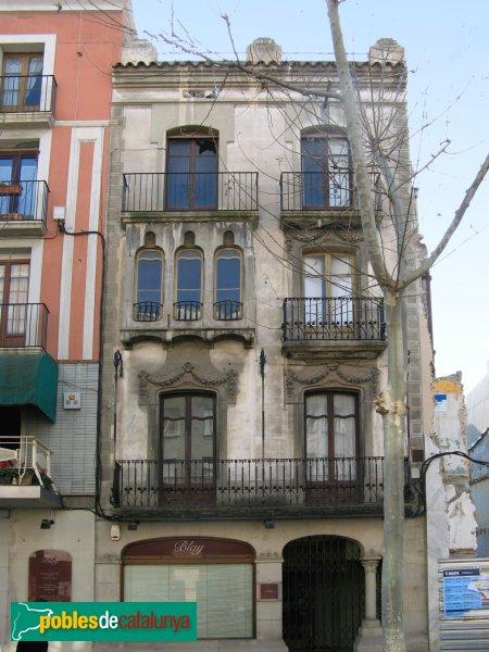 Igualada - Casa Farré, abans de la restauració