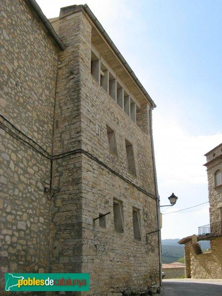La Llacuna - Muralla, torre de Foratmicó