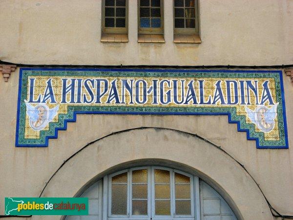 Igualada - Garatges de La Hispano Igualadina