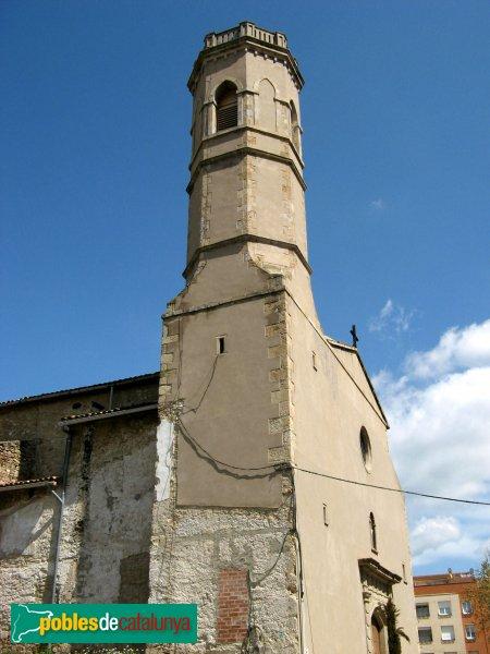 Vilanova del Camí - Església de Sant Hilari, campanar