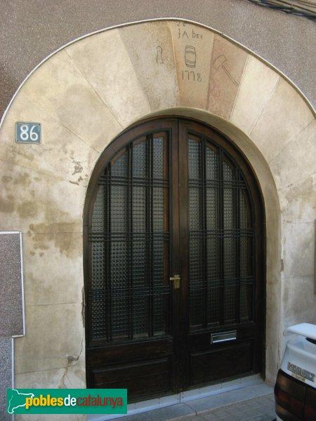 Vilanova del Camí - Portal de 1778