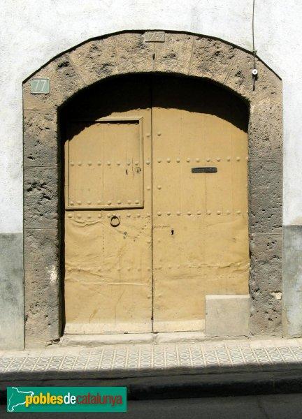 Vilanova del Camí - Portal de 1747