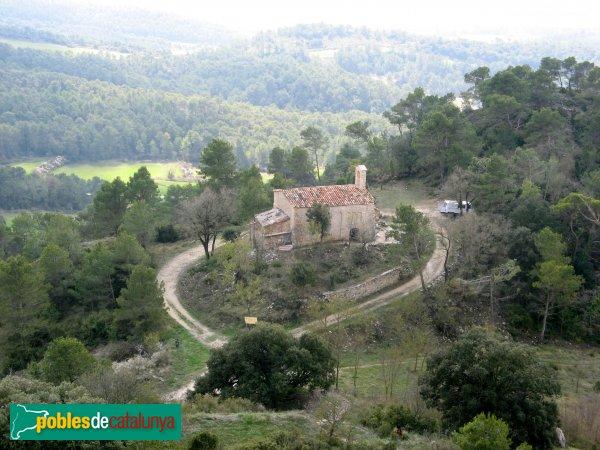 Bellprat - Sant Jaume de Queralt, des del castell