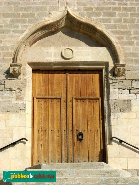 Jorba - Església de Sant Pere, portada
