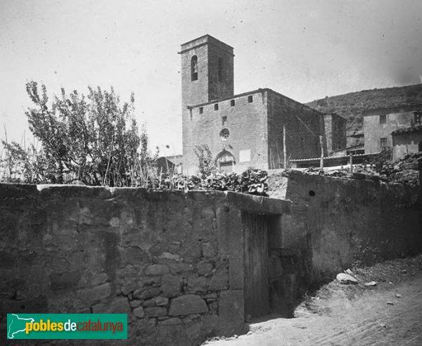 Jorba - Església de Sant Pere, 1923
