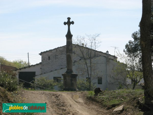 Jorba - Creu de la Sala i masia