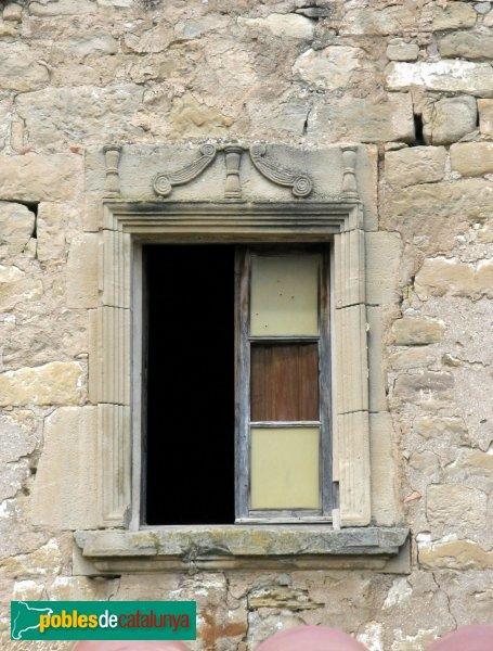 Jorba - Mas Jordà, finestra
