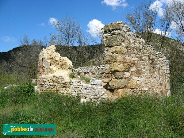 Jorba - Mas Jordà, ruïnes al costat del mas