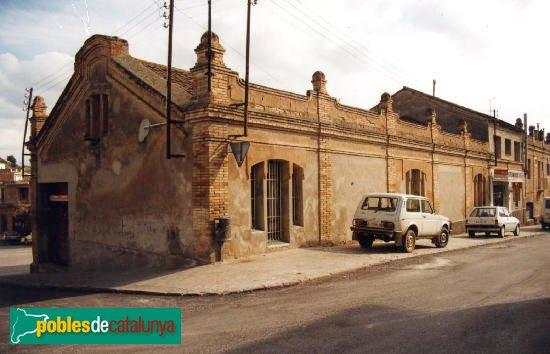 Òdena - Cooperativa Sindicat Agrícola, abans de la reforma