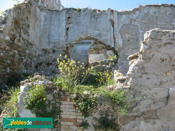 Òdena - Restes del nucli antic