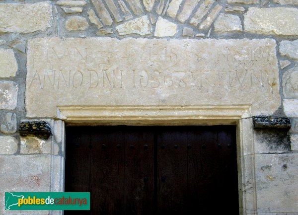 Sant Martí de Tous - Santuari de Sentfores