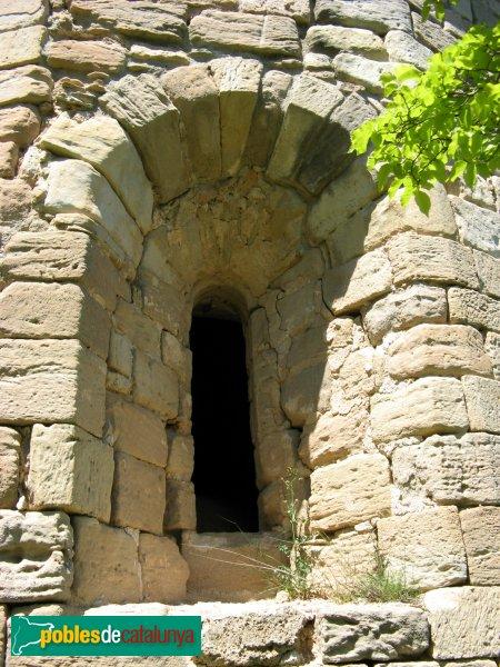 Sant Martí de Tous - Santa Maria de la Roqueta, finestra de l'absis