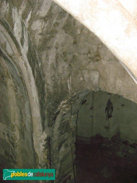 Sant Martí de Tous - Sant Pere de l'Erm, interior