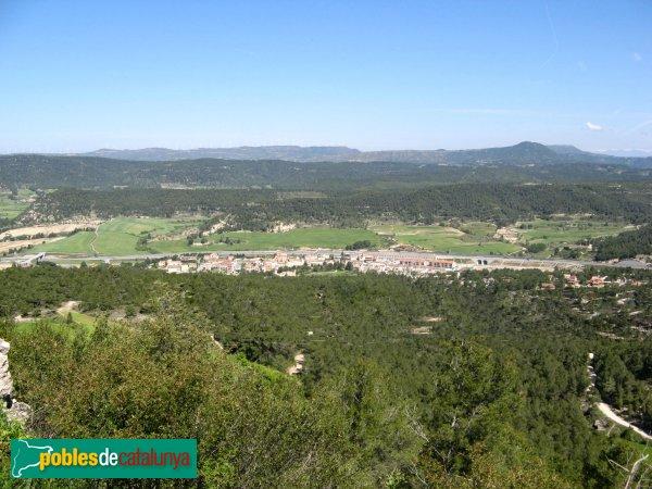 Castellolí - Panoràmica des del Castell
