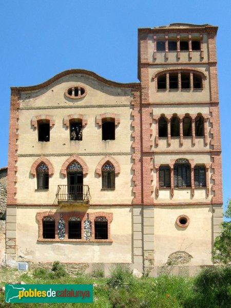 Castellolí - Can Muset, torre modernista