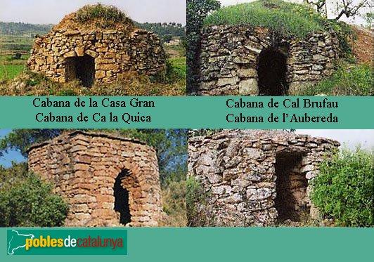 Sant Martí de Tous - Cabanes de pedra seca