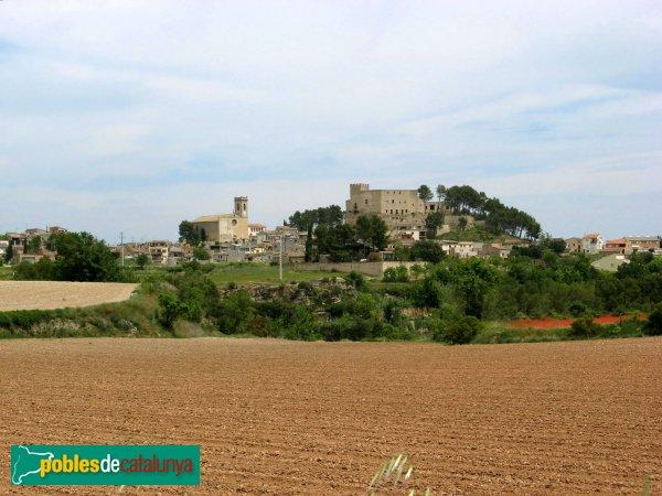 Sant Martí de Tous - Castell i església