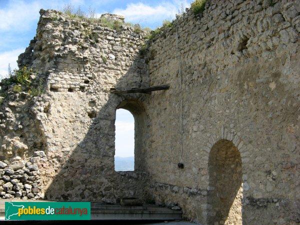 Santa Margarida de Montbui - Castell de Montbui, sala superior