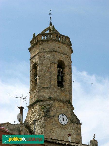 Santa Margarida de Montbui - Església parroquial, campanar