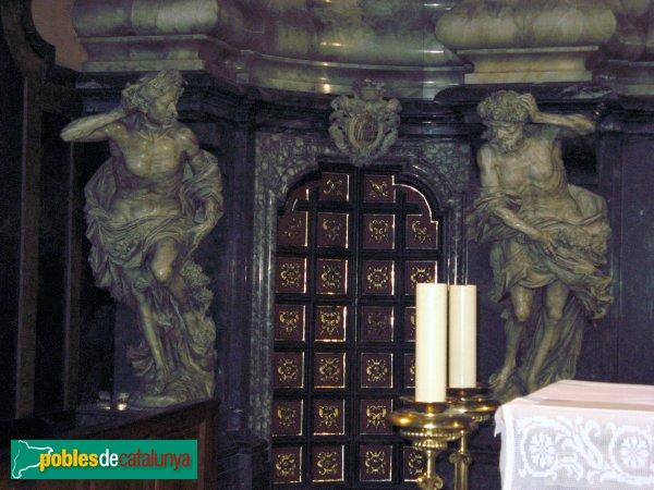 Igualada - Santa Maria, retaule