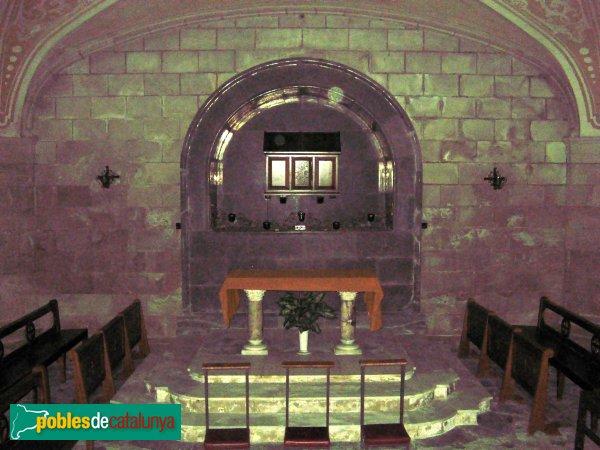 Igualada - Santa Maria, cripta