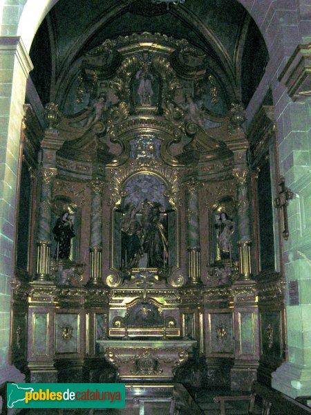 Igualada - Santa Maria, interior