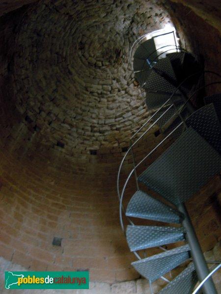 Prats de Rei - Castell de la Manresana, interior