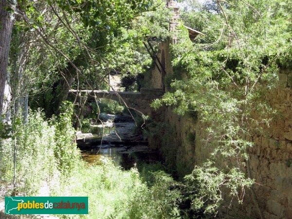 Prats de Rei - Mas de l'Albareda, pont