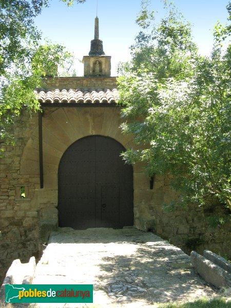 Prats de Rei - Mas de l'Albareda, porta exterior