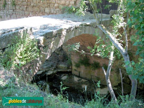 Prats de Rei - Mas de l'Albareda, pont del camí