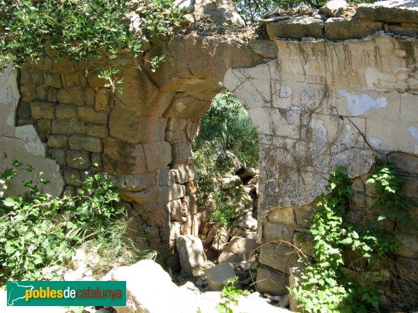 Prats de Rei - Sant Jaume de Puigdemàger, porta des de l'interior
