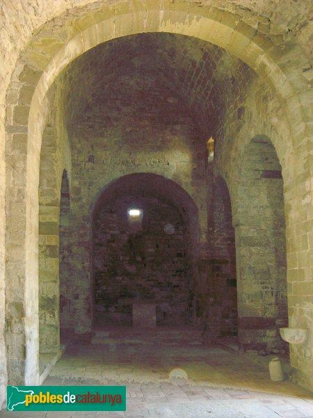 Sant Pere Sallavinera - Sant Pere del castell de Boixadors, interior