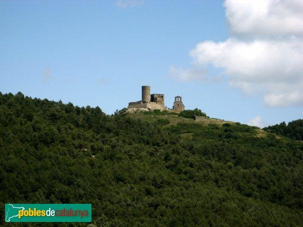 Sant Pere Sallavinera - Castell de Boixadors i església