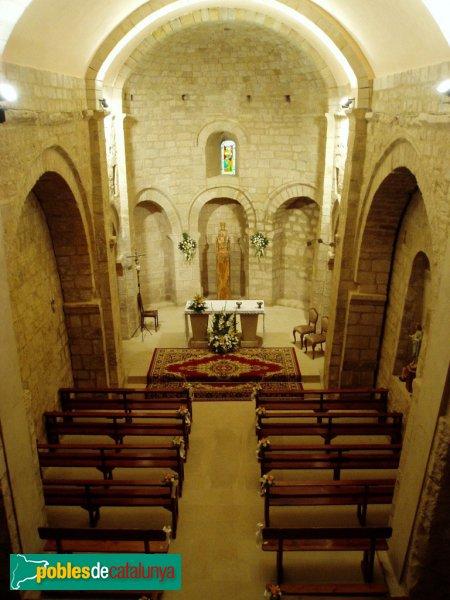 Veciana - Església de Santa Maria, interior